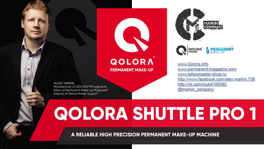 Qolora Shuttle Pro 1 - Presentation title